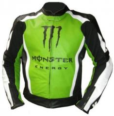 Kawasaki Biker Leather Racing  Jacket