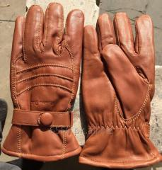Leather Gloves Men