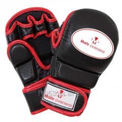 Real and PU leather MMA Gloves