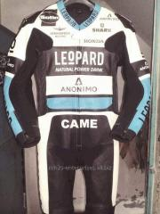Custom size leather racing suit Motorbike