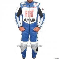 Fiat Custom size leather racing suit Motorcycle