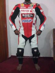 Custom design leather racing suit Motorbike