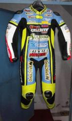 Customized Motorbike racing suit cowhide leather