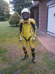 Motorbike leather customized size Racing Suit offer