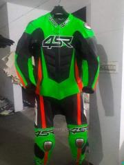 Motorbike leather custom logo Suit