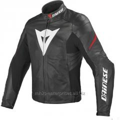 Motorcycle leather Jacket offer custom design/size