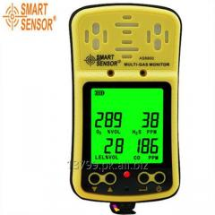 Gas Detector (H2S, 02, CO2, CH4 (LEL)
