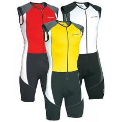 Custom sleeveless triathlon suit / triathlon clothing jersey / tri suit wetsuit