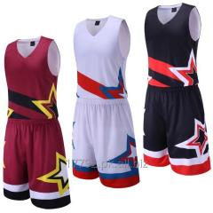 Free sample basketball uniform quality basketball uniform kit basketball uniform in usa