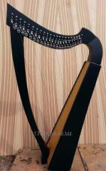 22 Strings Celtic lever harp