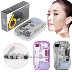 DRS Derma Roller 6 In 1 Derma Roller Kit for Skin Care
