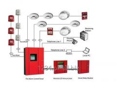 Fire Alarm System and smoke detectors