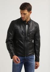 Leather jacket sheep skin