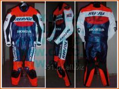 REPSOL Motorbike Racing Leather Suit