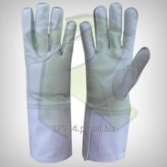 Fencing Leather Gloves
