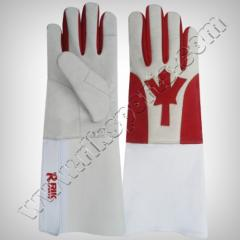 FENCING CANADA MAPLE LEAF FLAG GLOVES