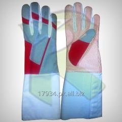 Fencing Amara Silicoated Gloves