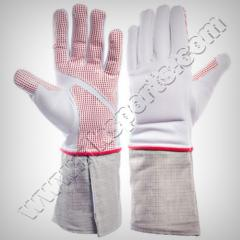 FENCING FIE APPROVED 800N SABRE GLOVES ( LEVEL 2 )