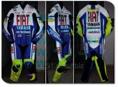 YAMAHA FIAT MOTOR BIKE LEATHER SUIT