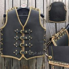 Classic vest leather