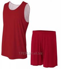 Reversible mesh basketball jerseys uniforms sets