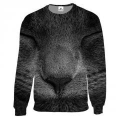 Custom Unisex 3D Graphic Crew Neck Sweatshirt