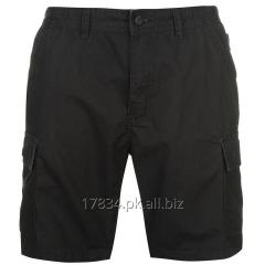 Latest Fashion Cotton Black Cargo Shorts for Men