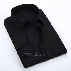 Casual Office Long Sleeve Cotton Dress Shirt for