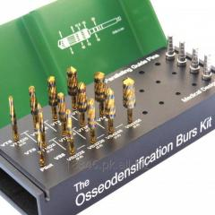 Osseodensification Universal Burs Kit Gold Series