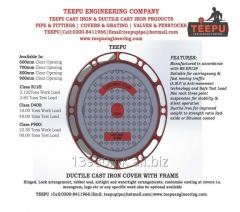 Teepu Ductile Cast Iron Manhole Covers &
