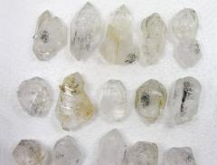 Diamond quartz crystal