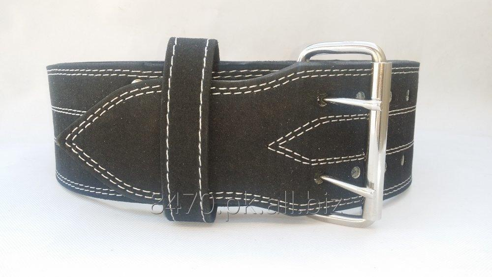 power_weight_lifting_belt_with_prong_buckle