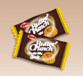 Butter crunch chocolate filled candy