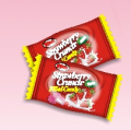 Strawberry crunch filled candy