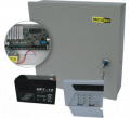 SECUtec secualarm 600, wired 6 defence zones alarm panel