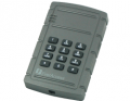 Single gang proximity reader with keypad