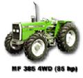 Massey Ferguson  Tractor Model: MF-385 4WD