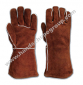 Brown Worker Gloves