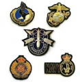 Hand made embroidery badges