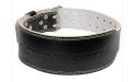 BLACK LEATHER WEIGHT BELT