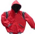 Hooded Varsity Jacket