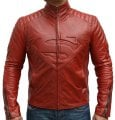 Super Man Red Leather Jackets