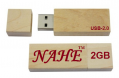2gb Rectangular Wooden USB Flash Drive