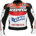 Racing Leather Motorcycle Jacket D