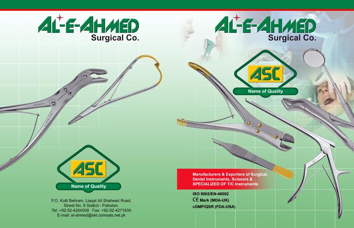 Al-e-Ahmed Surgical, Co., Sialkot