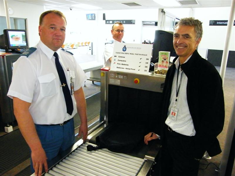 Order Airport aviation security
