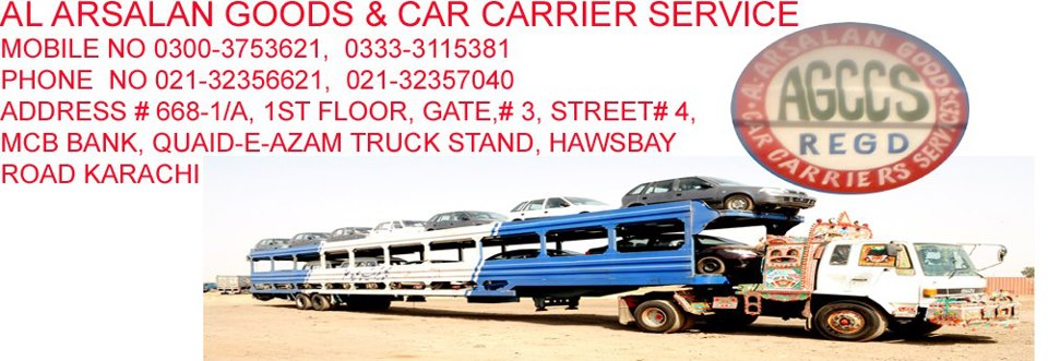 Order AL ARSALAN GOODS & CAR CARRIER SERVICE
