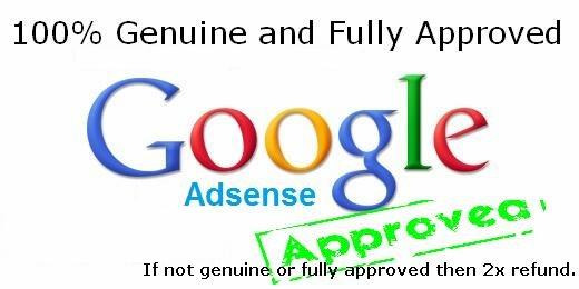 Order Google Adsense Accounts