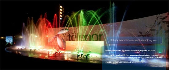 Order Musical and Dancing Fountain