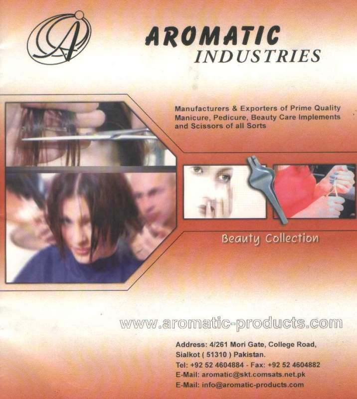 Order Aromatic Industries - The Beauty Tools Company.